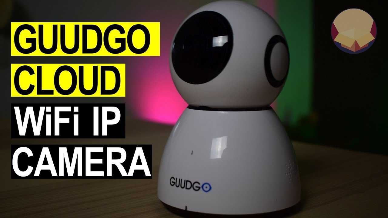 Guudgo GD-SC03 WIFI IP camera Review Unboxing and how to use instructions