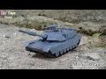 M1A2 Abrams Main Battle Tank 4D Mini Jigsaw Model