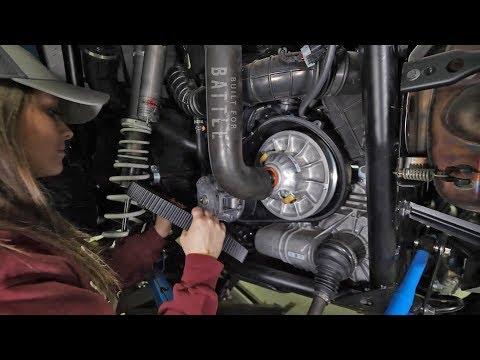 How to change Polaris RZR XP 1000 Drive Belt | Maintenance Matters | SuperATV