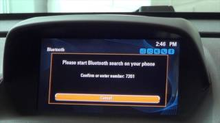 How to pair your Bluetooth device with a Buick and GMC vehicle.