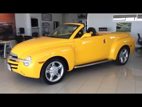 2004 Chevrolet Ssr At Don Johnson Motors In Rice Lake Wi