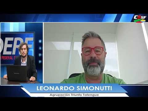 Simonutti: Hay que pensar en un Unión de acá a 30 o 40 años