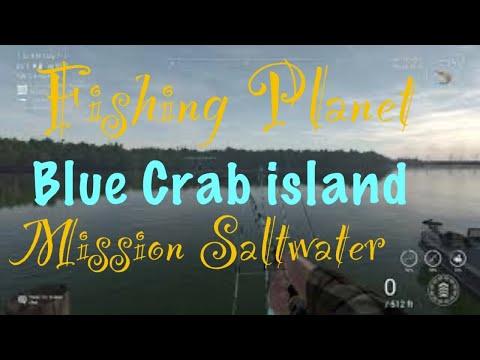 Fishing planet blue