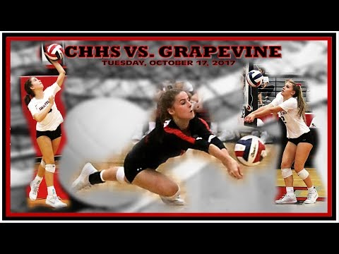 Colleyville Volleyball -- CHHS vs. Grapevine -- October 17, 2017