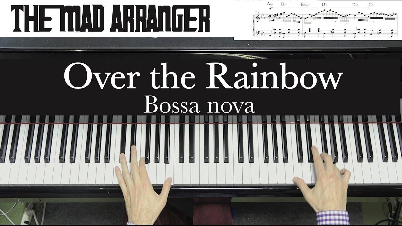 Jacob Koller - Over the Rainbow - Advanced Bossa Arrangement with Sheet Music - YouTube