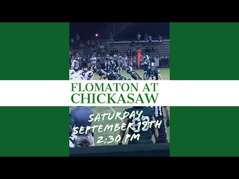 Flomaton High School 38 Chickasaw 6 September 19, 2020