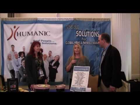 Interview with Humanic the Concierge & Transportation Sponsor at Strategic HR New England 2012
