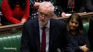 U.K.'s Corbyn Calls for a Public Vote on Brexit thumbnail
