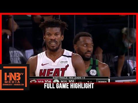 Heat vs Celtics Game 2 9.17.20 | Eastern Conference Finals | Full Highlights