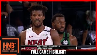 Heat vs Celtics Game 2 9.17.20 | Eastern Conference Finals | Full Highlights