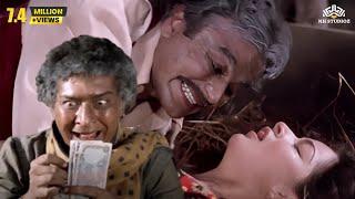 Divya Rana Being Attacked By A Man |  Aasmaan Action Hindi Movie