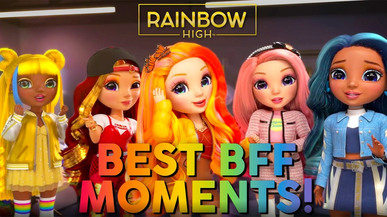 Best BFF Moments! 💖 | Rainbow High Compilation
