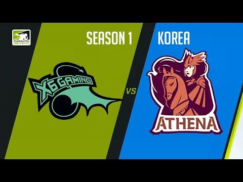 X6-Gaming vs Meta Athena (Part 2) | OWC 2018 Season 1: Korea
