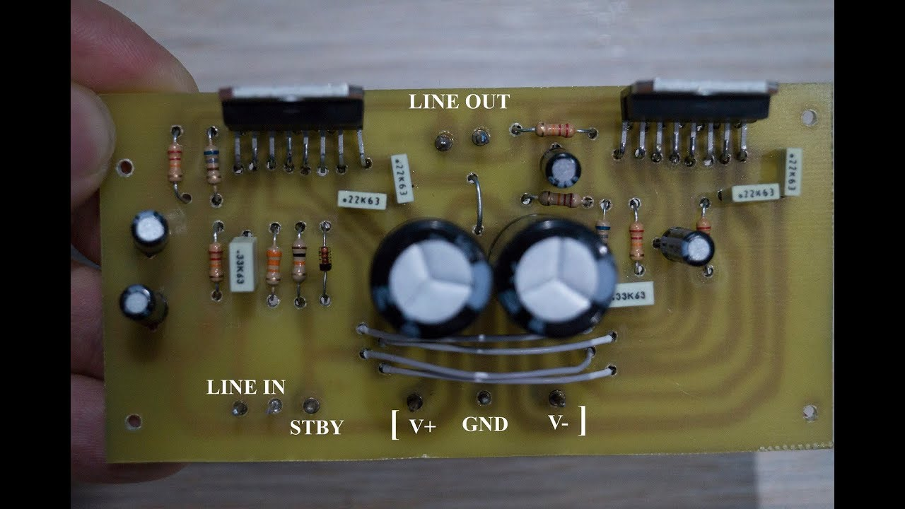 How To Make 250W Audio amplifier