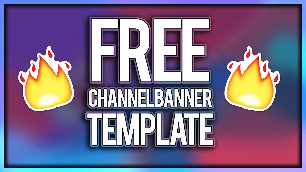Free Gfx Youtube Channel Art Banner Template Psd Free Download