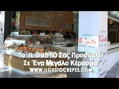 IL GUSTO Crepes Delivery Thessaloniki