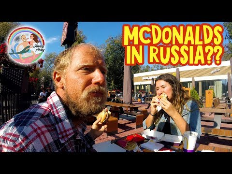 Is THIS Mcdonalds In RUSSIA ??????
