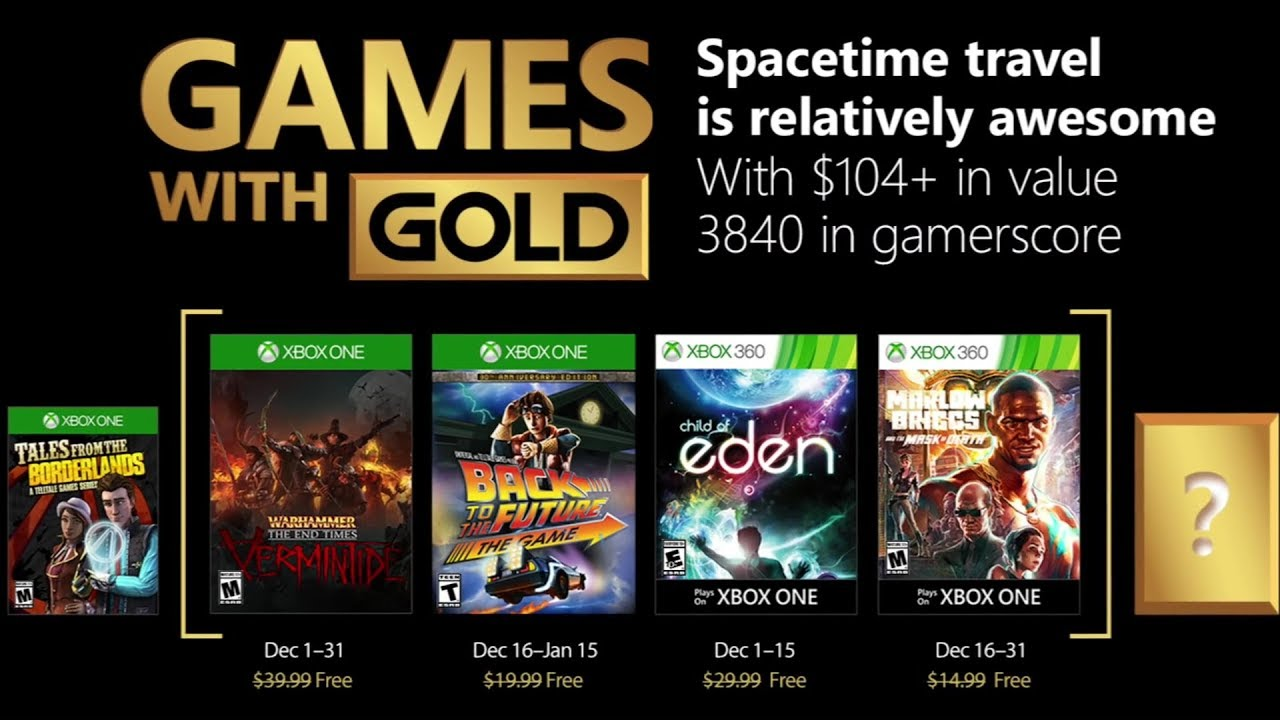 xbox free games with gold december 2017