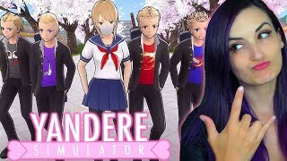 I FINALLY Joined the DELINQUENTS in Yandere Simulator!! (NEW Delinquents Club Update)