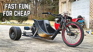 Why You NEED to Build a Cheap Drift Trike!! Trike Revival