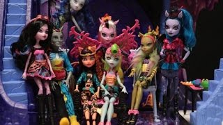 Monster High Freaky Fusion Movie Stop Motion!