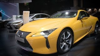 Lexus LC Limited Edition at the 2018 Paris Motor Show
