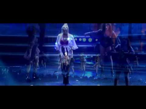 Britney Spears - Slumber Party HD- Piece of Me Live  Las Vegas
