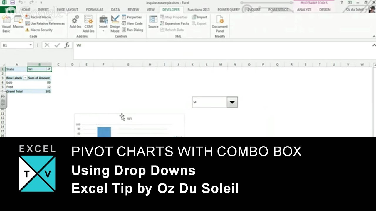 Excel Vba Populate Combobox From Table