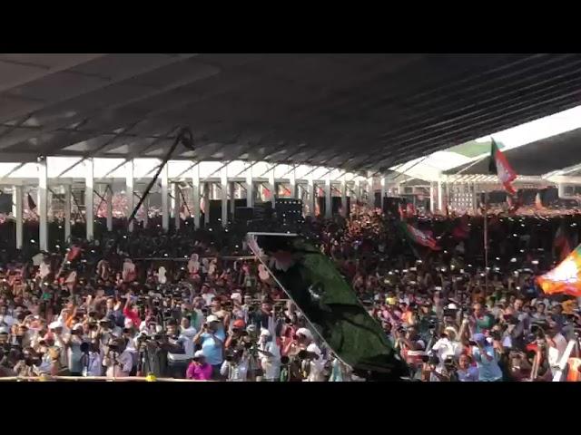 चित्तौड़गढ़ में आज प्रधानमंत्री नरेन्द्र मोदी के लिए उमड़ा जनसैलाब..