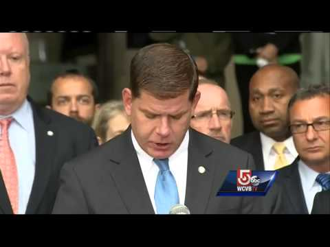 Sadness at Boston City Hall after death of Tom Menino