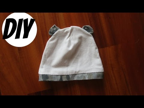 Diy Tutorial How To Make Baby Hat With Bear Ears Youtube