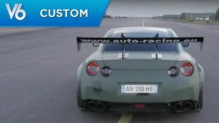 Nissan GTR VS Mercedes SLS AMG - Les essais custom de V6