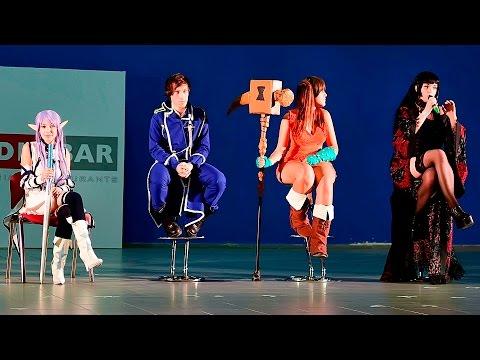 [RuN Thessaloniki IV] Guest Cosplayers Panel (Thessaloniki / Greece / 01.10.2016)