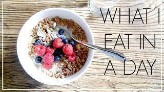 8. What I Eat In A Day | Niomi Smart