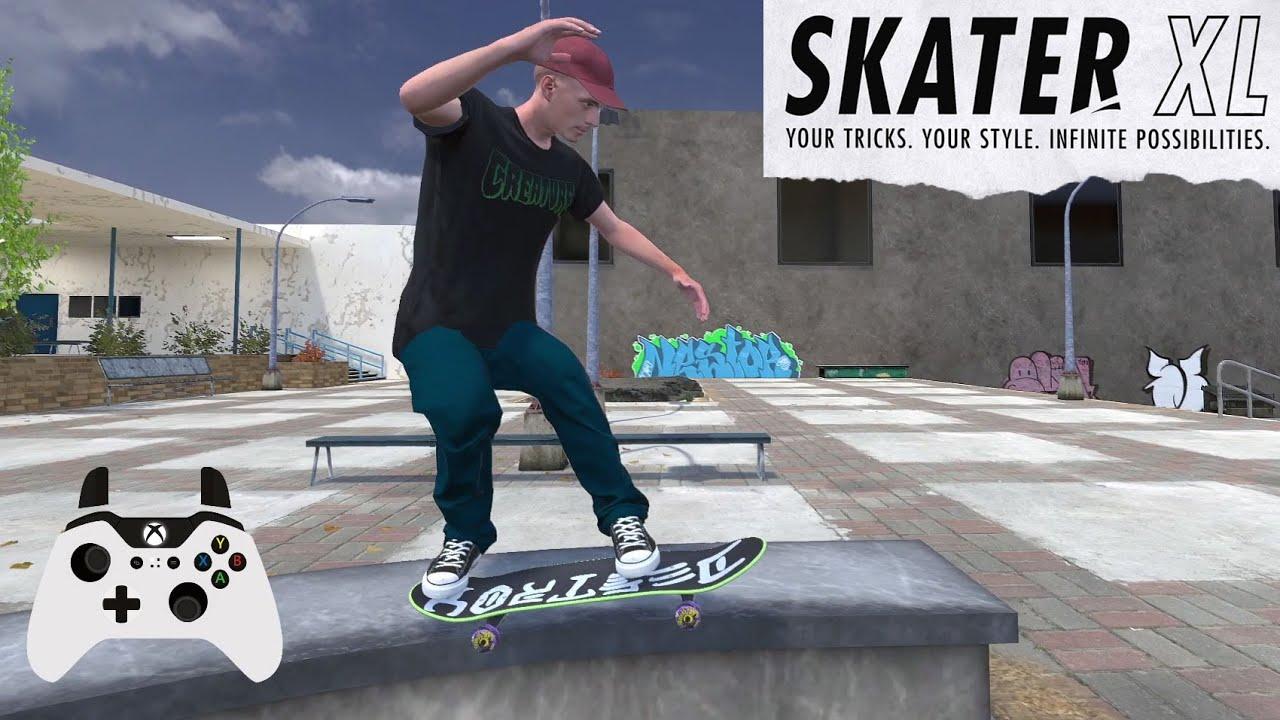 SKATER XL en el COLEGIO
