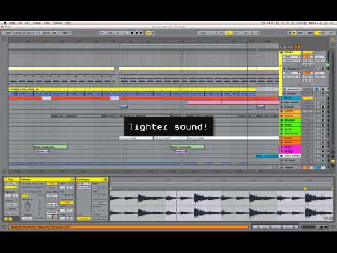 SEM Ableton Live Tutorial : Using Beats mode to tighten loops