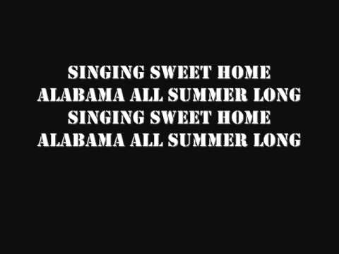 Kid Rock  All Summer Lg wlyrics