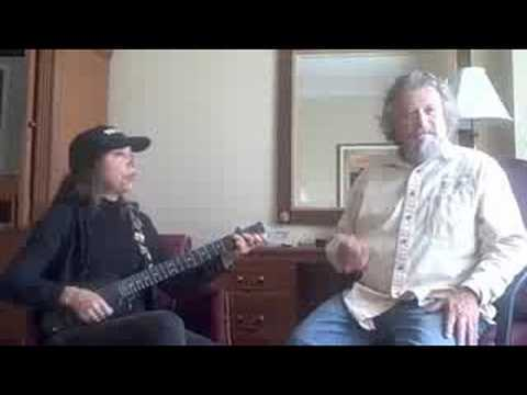 """Mark Bittner singing """"Dogen, Connor & Tupelo"""""""