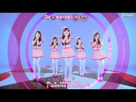 Popu Lady - Kiss Me MV (Sub Español + Karaoke)