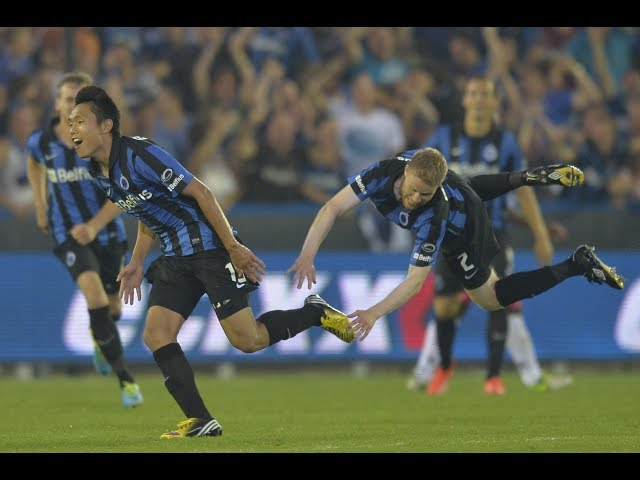 2013-2014 - Club Brugge - SC Charleroi - GOAL Shangyuan Wang