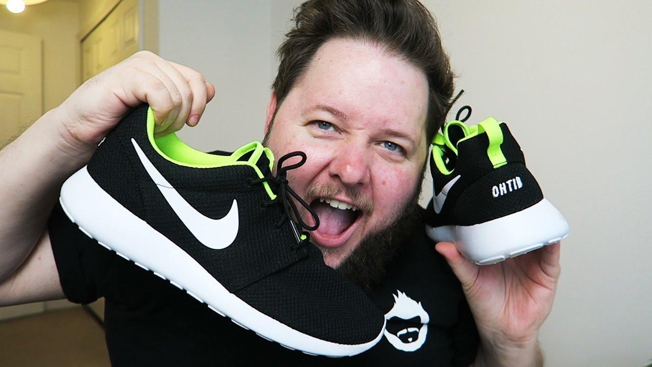 dfe5caace MY OWN CUSTOM SHOES!! (Nike ID) - YouTube