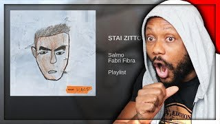 SALMO - STAI ZITTO FEAT. FABRI FIBRA | REACTION!!!