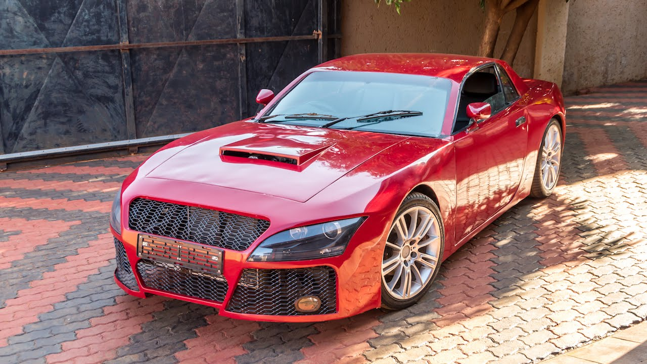 Car Manufacturers In South Africa Man Builds Sports Car From The Dream Cars Of His Childhood