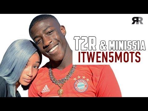 """Youtube: T2R & MINISSIA – L'Interview 5 Mots: """"A un moment, on était séparés…"""""""