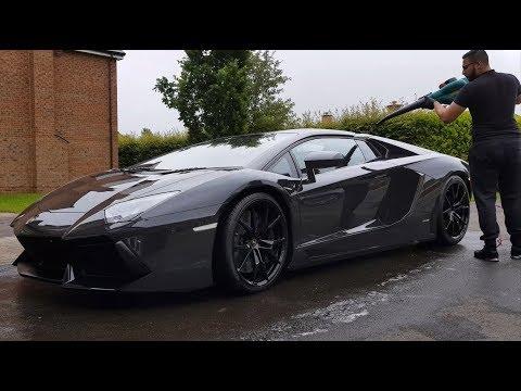 700 BHP Lamborghini Aventador V12 - CLEAN MACHINE DETAILING