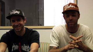 On the Crail Couch with Andrew Reynolds & Mike Carroll
