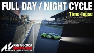 Assetto Corsa Competizione - Full day/night cycle // TIME-LAPSE