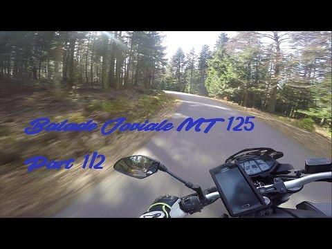 Balade joviale Yamaha MT125 + Ktm Duke 125 + Husaberg Fe450 [Part 1/2]