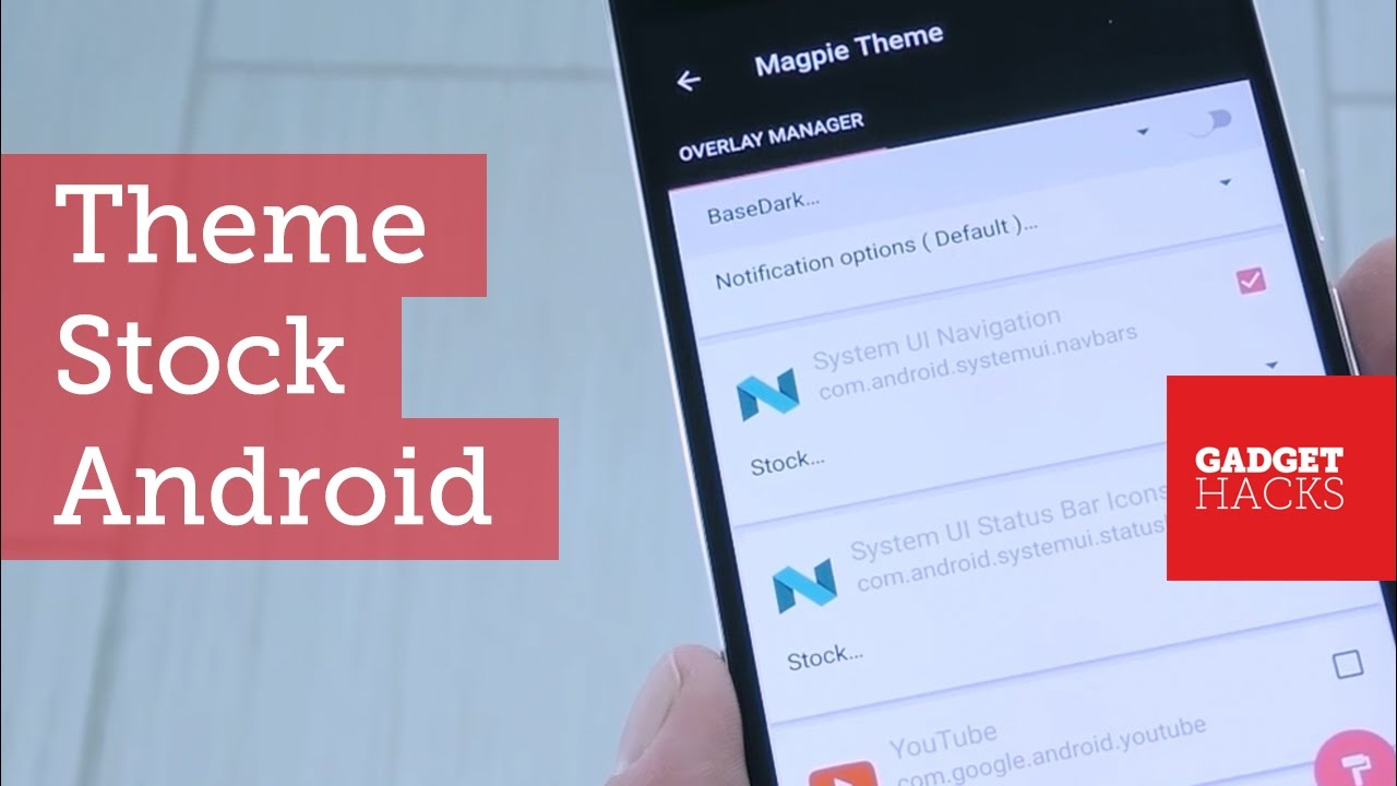 Theme Almost Any App or UI on Stock Android Using Substratum [How-To]