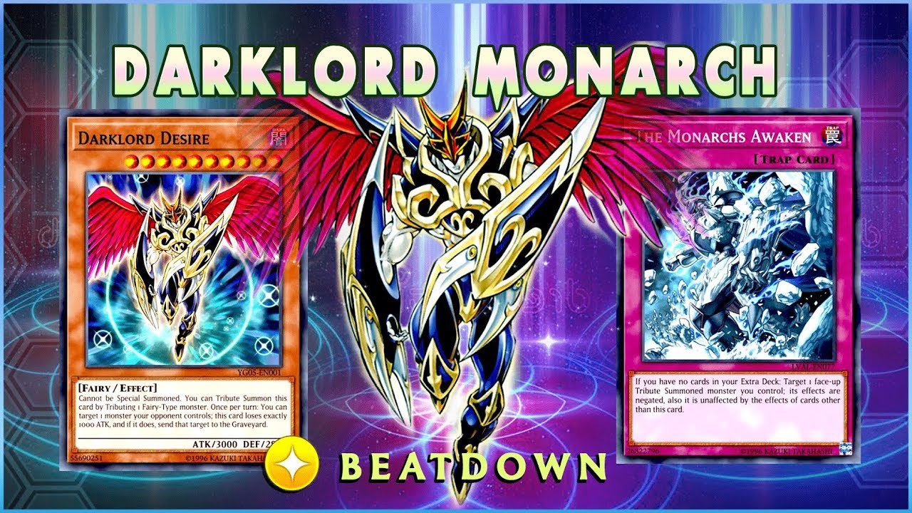 UNAFFECTED DARKLORDS! THE MONARCH DARKLORD DECK [ Yu-Gi-Oh! Duel Links ]